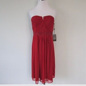Red bridesmaid/cocktail dress